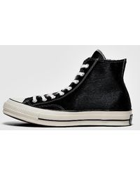 Converse Chuck Taylor All Star 70's Pony Hair Trainer - Black