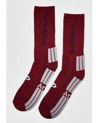 Aries No Problemo Socks - Red