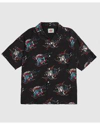 Flagstuff Dragon Shirt - Black