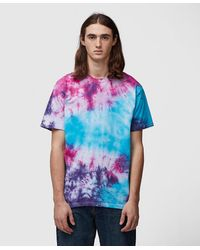 Stain Shade Tie-dye T-shirt - Multicolor