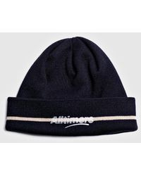 Alltimers Lined Estate Beanie - Blue