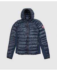 Canada Goose Hybridge Lite Hoodie Jacket - Blue