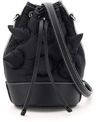 1 MONCLER JW ANDERSON Moncler X Jwanderson Critter Moncler Genius 1 Bucket Bag - Black