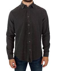 Gianfranco Ferré Button Front Cotton Casual Shirt - Multicolour