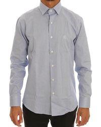Cavalli Shirt Blue Tsh1479