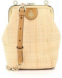 Mark Cross Susanna Raffia Mini Bag - Multicolor