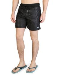 Karl Lagerfeld Swimwear Black Kl21mbm13