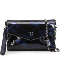 Trussardi Paprica Clutch Bags - Blue