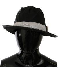 CoSTUME NATIONAL Classic Wide Brim Floppy Hat Black Hat20000