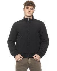 Cerruti 1881 Black Double-slider Zip Closure Jacket