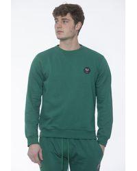 19v69 Italia Green Crewneck Sweater