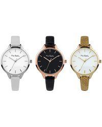 Pierre Cardin Quartz Multicolor Leather Strap Watch
