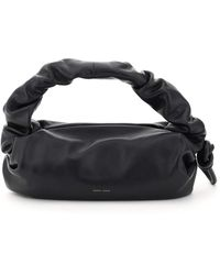Danse Lente Lola Bis Leather Hobo Bag - Black