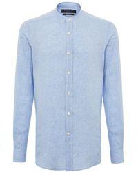 Shanghai Tang - Linen Shirt - Lyst