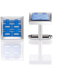 Shanghai Tang - Double Happiness Square Cufflinks - Lyst