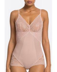 Spanx Spotlight on Lace Bodysuit - Pink