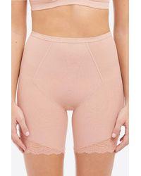 Spanx Spotlight on Lace Mid-Thigh Short - Natur