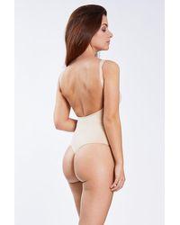 Magic Bodyfashion Rückenfreier Body - Natur