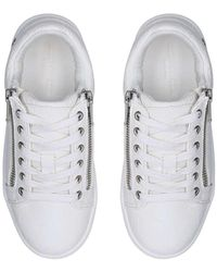 Kurt Geiger Kids White Lace Up Trainers Ages 2-7