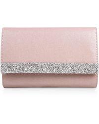Miss Kg Pale Pink Clutch Bag
