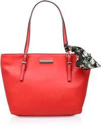 Nine West - Red 'it Girl' Tote Bag - Lyst