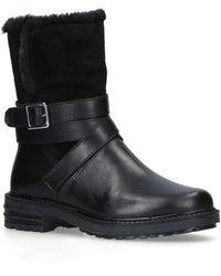 Kurt Geiger Soldier 35 Mm Heel Ankle Boots Black