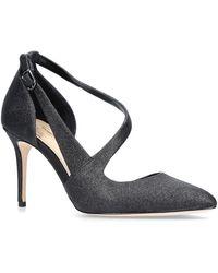 Imagine Vince Camuto Masonie Black Glitter Occasion Heels