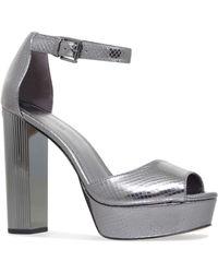 1444c7cfd9d7 Michael Michael Kors Paloma Sandals in Black - Lyst
