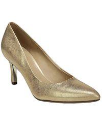 c365f0468e Lyst - Miss Kg Natalie Cross Strap Heeled Shoes