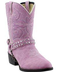 da9e33be614d Lyst - Ugg Bailey Button Genuine Sheepskin Lined Boot (little Kid ...
