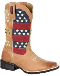Durango | Mustang Pull-on Patriotic Western Boot | Lyst