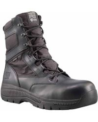 Timberland - Valor Duty 8 Inch Side-zip Composite Toe Work Boots - Lyst