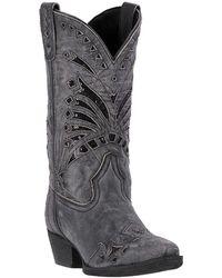 18259e768b32 Lyst - Sam Edelman Stevie Cowboy Boots in Black