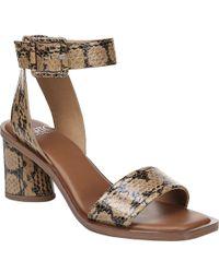 410e173e8b Anne Klein Ellamae Sandal in Brown - Lyst