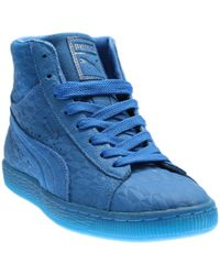 PUMA | Suede Me Mid Iced | Lyst