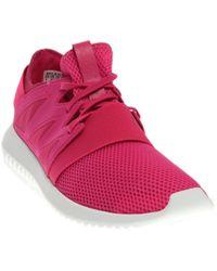 Viral Lyst Adidas tubular en color rosa