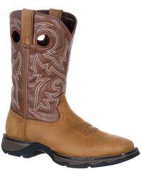 Durango Lady Rebel By Women's Waterproof Pull-on Western Boot - Brown