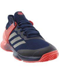 935cfae72 Lyst - Adidas Adizero Ubersonic Clay in Blue for Men