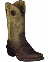 Ariat - Heritage Roughstock Square Toe Western Boot - Lyst