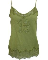 69749e1ac400 PUMA - Fenty By Rihanna Lace Trim Sleepwear Cami - Lyst