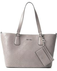Nine West Marcelie Small Trap Tote - Gray