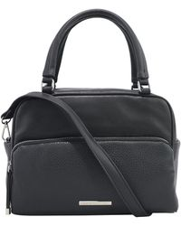 Kenneth Cole Reaction Multifaceted Satchel - Black