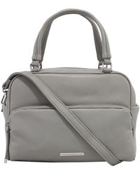 Kenneth Cole Reaction Multifaceted Satchel - Gray