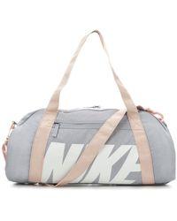 Nike Gym Club Duffel Bag - Gray