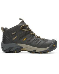 Keen Utility - Lansing Mid Steel Toe Waterproof Boot - Lyst