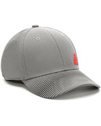 adidas Release Stretch Fit Baseball Cap - Gray