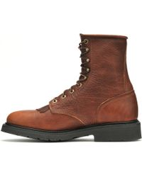 Double H Boot - 8 Inch Work Lacer - Lyst