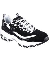 Skechers D'lites Sneakers - Black