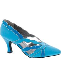 Bellini Cocktail Pointed Toe Pump - Blue