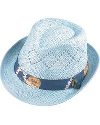Henschel - Fedora 3260 Vented Paper Straw Hat - Lyst
